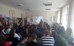 Для Новоодесских школьников провели профилактическое мероприятие на тему: «Стоп наркотик! Выбирай цвета жизни»