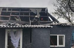 В Новой Одессы из-за короткого замыкания горел частный дом