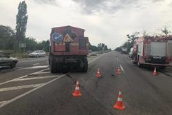 Под Новой Одессой произошло трагическое ДТП с участием грузового автомобиля, водитель которого погиб (Фото)
