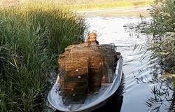 В Новоодесском районе обнаружили больше сотни браконьерских раколовок (Фото, Видео)